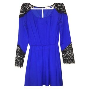 Bright Royal Blue GB Dress.